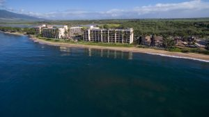 Sugar Beach Resort aerial