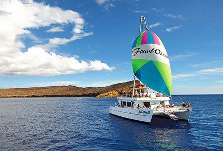 Four Winds Maui snorkeling at Molokini