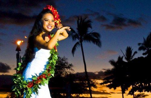 Maui Luau. Wailea Beach Front Marriott Luau