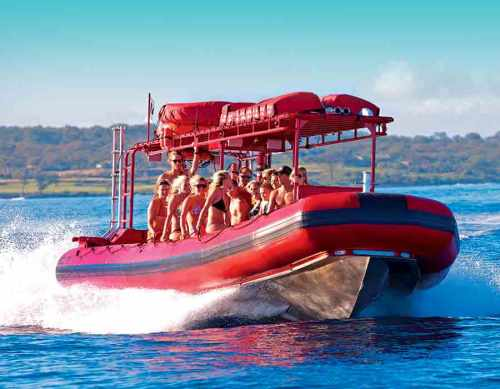 Redline Rafting Tour heading for an adventure off the coast of Maui