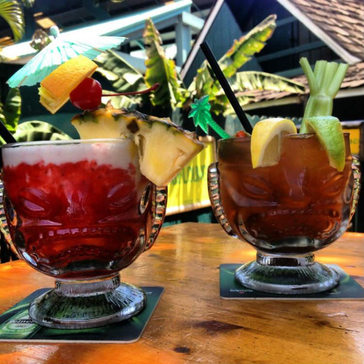 happy hour at tiki bar kihei maui - maui happy hours