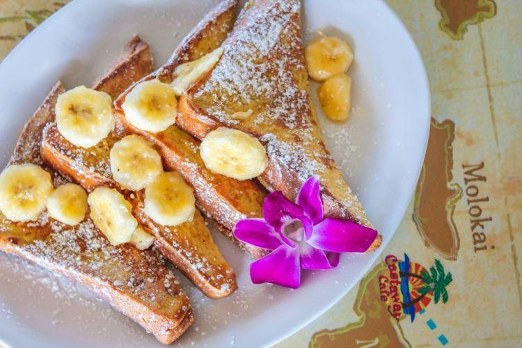 French Toast at Castaway Cafe Maui Hawaii