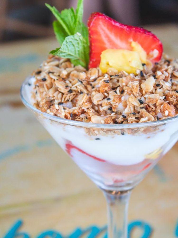 Yogurt Parfait at Castaway Cafe Maui