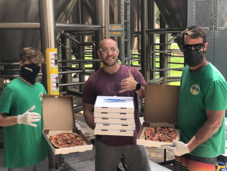 Outrigger Pizza with Maui Brewing Co Owner Garrett Marrero