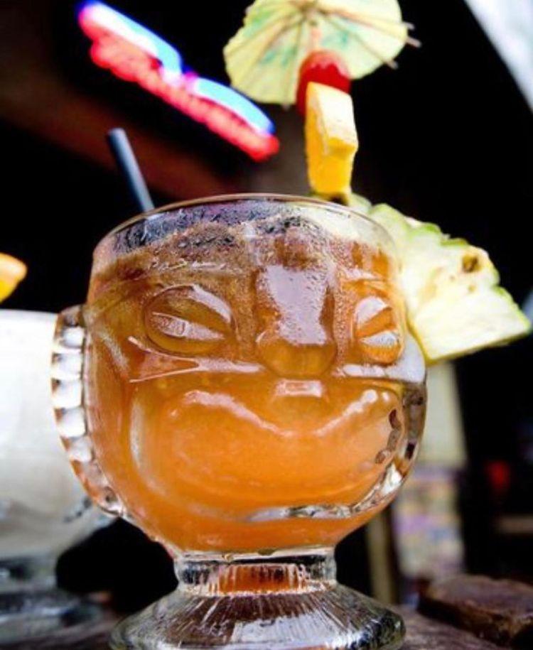happy hour mai tai - south shore tiki lounge kihei maui