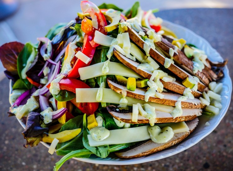 Maui Happy Hours - Portabello Mushroom Salad