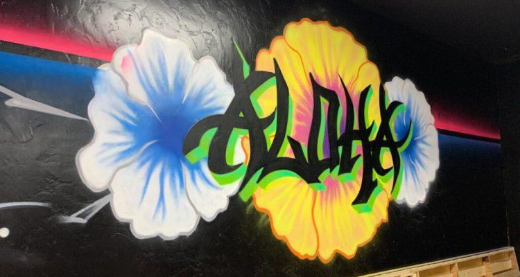 Happy Hour Menu Da Playground Maui - Aloha Wall Art