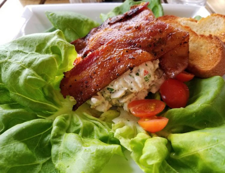 Happy Hour Pi Artisan Chicken Salad with Bacon and Butter Lettuce