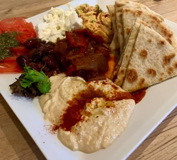 Hummus Platter Happy Hour