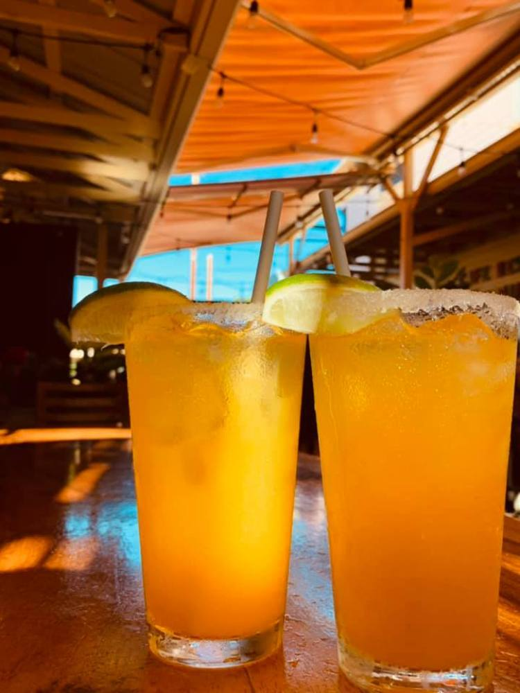Happy Hour Lilikoi Passion Fruit Margaritas