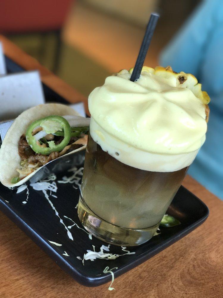 Happy Hour Mai Tai and Taco at Monkeypod Kitchen Kaanapali Maui 2021