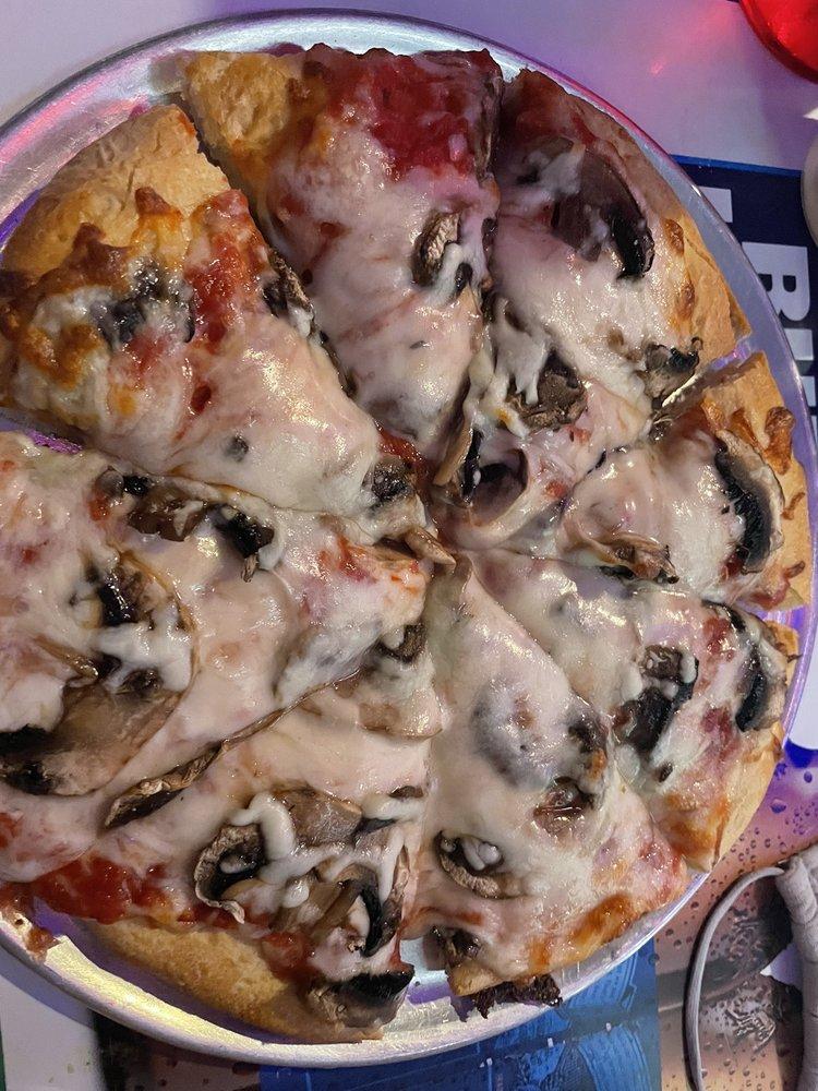 Cheesy Pizza at Lahaina Sports Bar