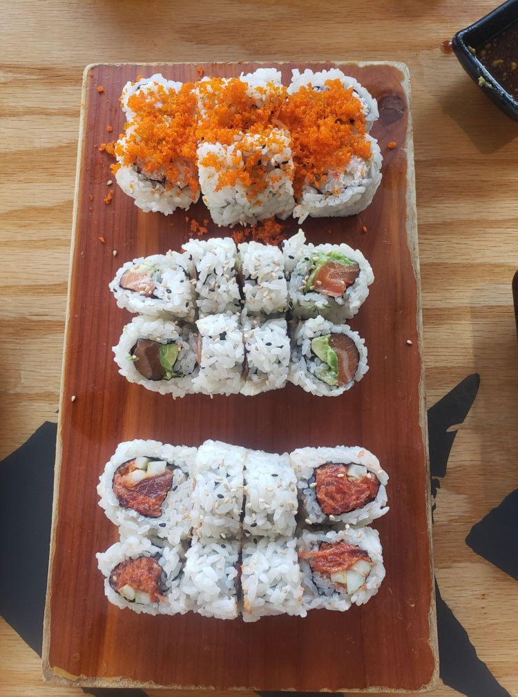 Best Maui Happy Hour for Sushi - Isana Restaurant Kihei