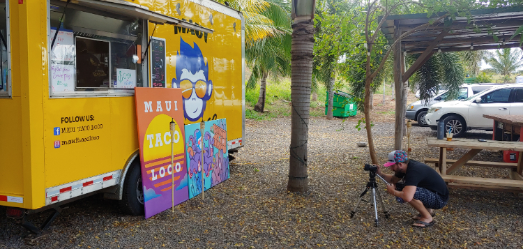 Maui food truck - Maui Taco Loco