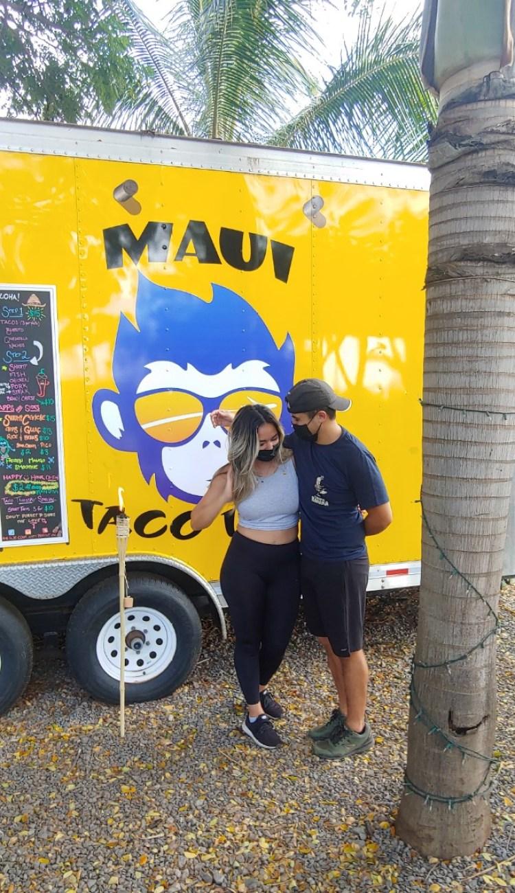 Maui taco loco food truck owners