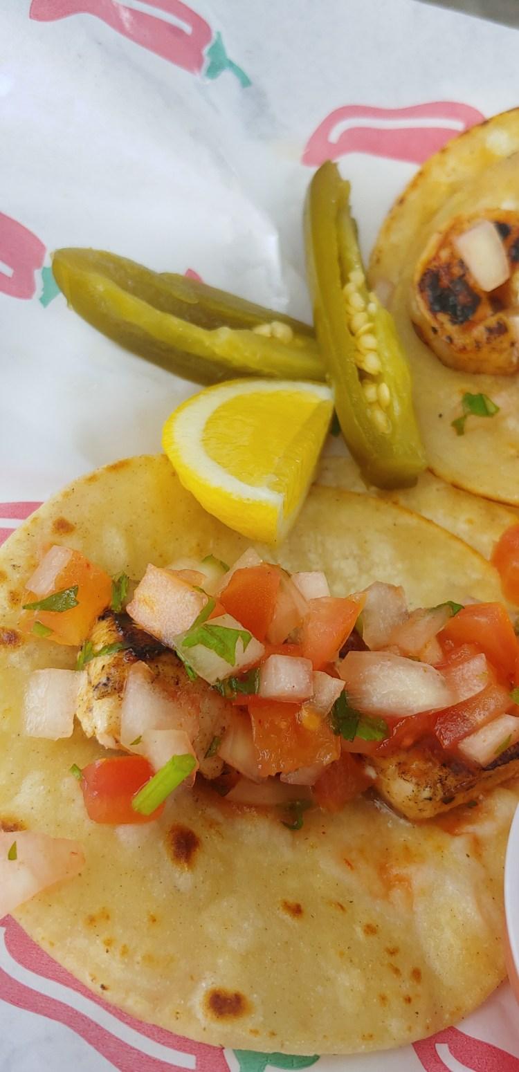 Happy hour Maui taco loco street tacos