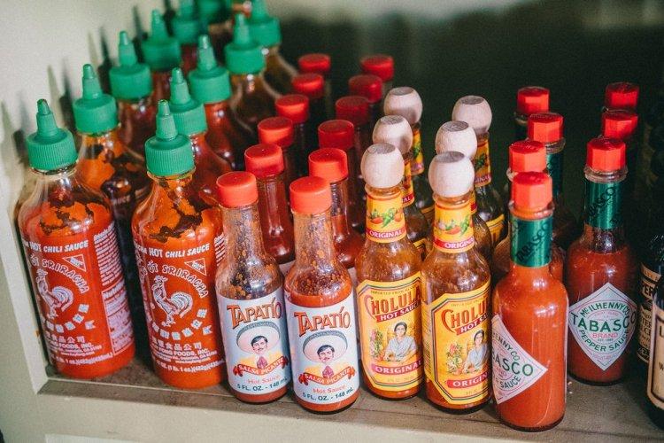 Hot Sauce Collection - Sriracha, Tapatio, Cholula, Tabasco