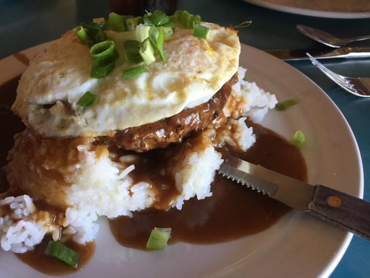Hawaiian Loco Moco Breakfast