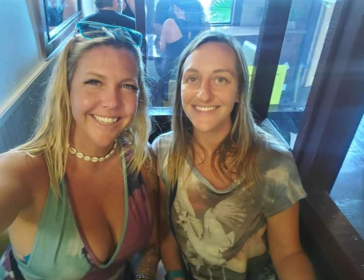 Happy Hour Colleens Haiku 2021 - Kayla Delong and Britt Osteraa - Maui Happy Hours