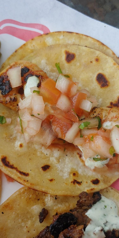 Taco closeup Maui Happy Hour