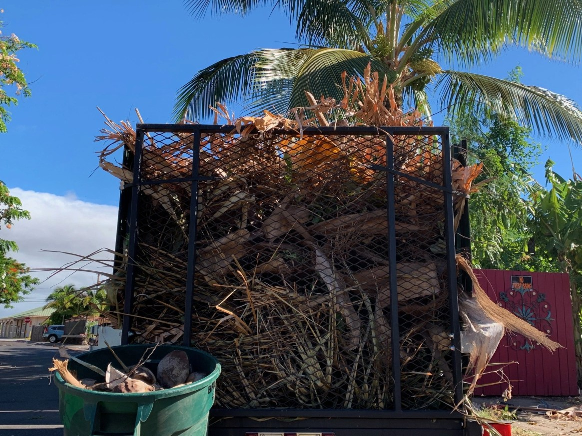 maui green waste recycling pickup collection disposal service