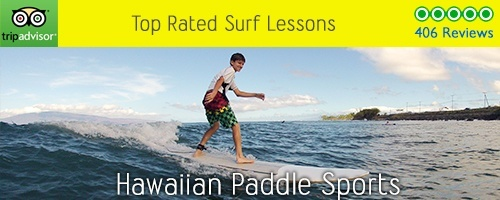 Hawaiian Paddle Sports Surf Lessons
