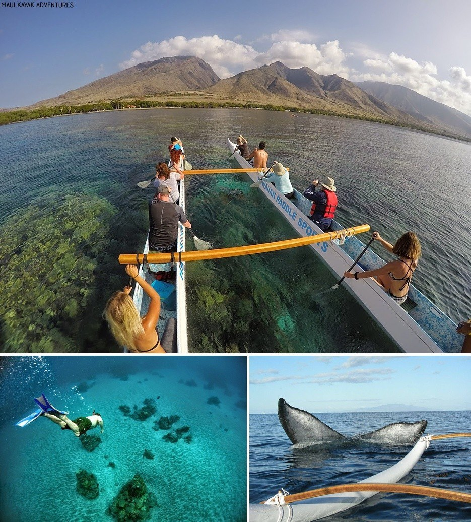 outrigger canoeing maui