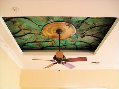 Inlay Ceiling Artwork