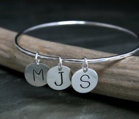 Personalized Bangle with