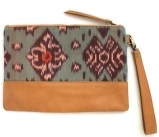 tiger rose wristlet clutch maui bag