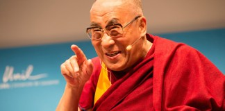 Dalai Lama educating the heart