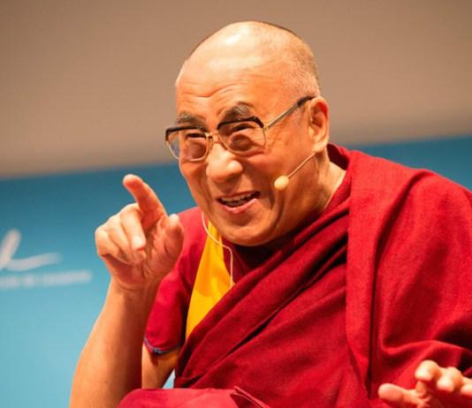 Dalai Lama educating the heart