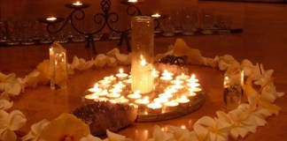Candle light remembrance Maui