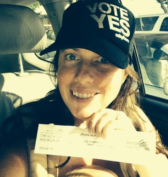 Vote Yes women vote