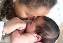 Craniosacral therapy baby