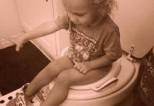 Potty training dos and don'ts