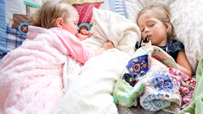 napping children keiki