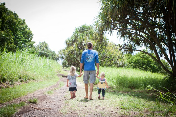 Maui dad parenting