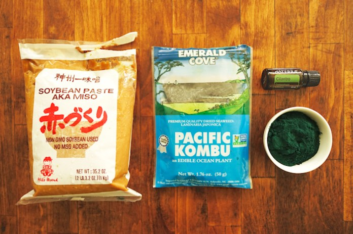 Fukushima radiation food eradicate