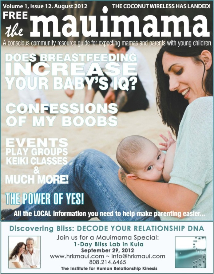 Mauimama front cover issue 12