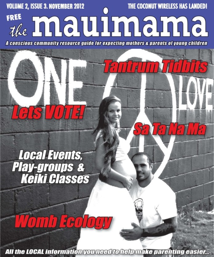 Mauimama front cover issue 15