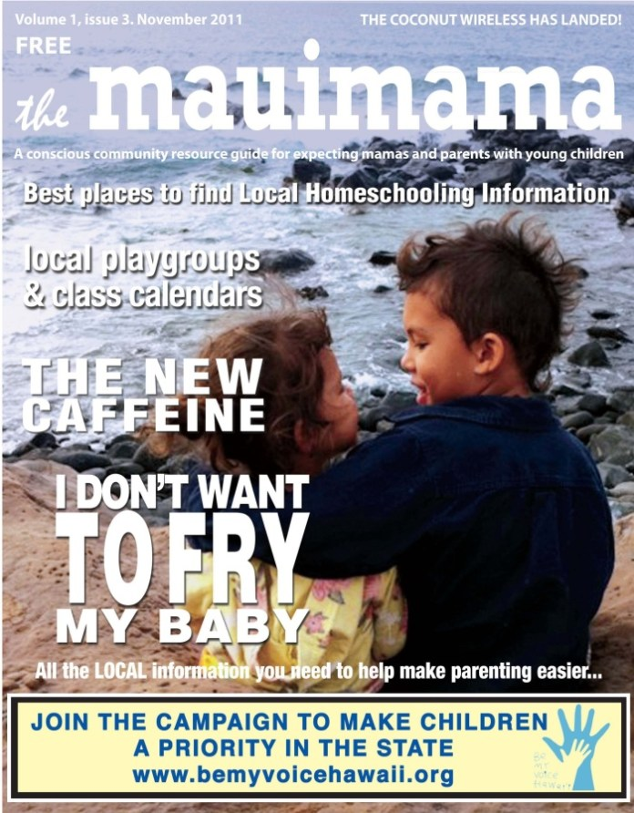 Mauimama front cover issue 3