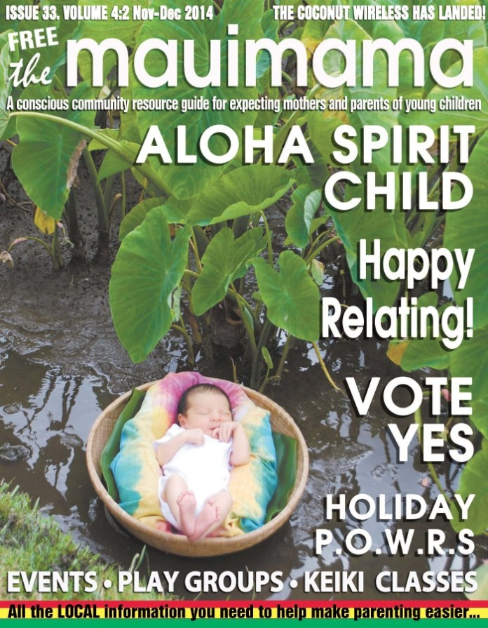 Mauimama front cover issue 33