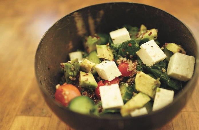 Mauimama recipe Quinoa feta Salad