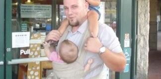 Sol Smith breastfeeding father