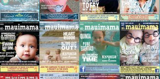 Mauimama front cover issue 13