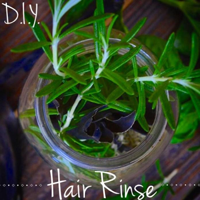 DIY hair treatment