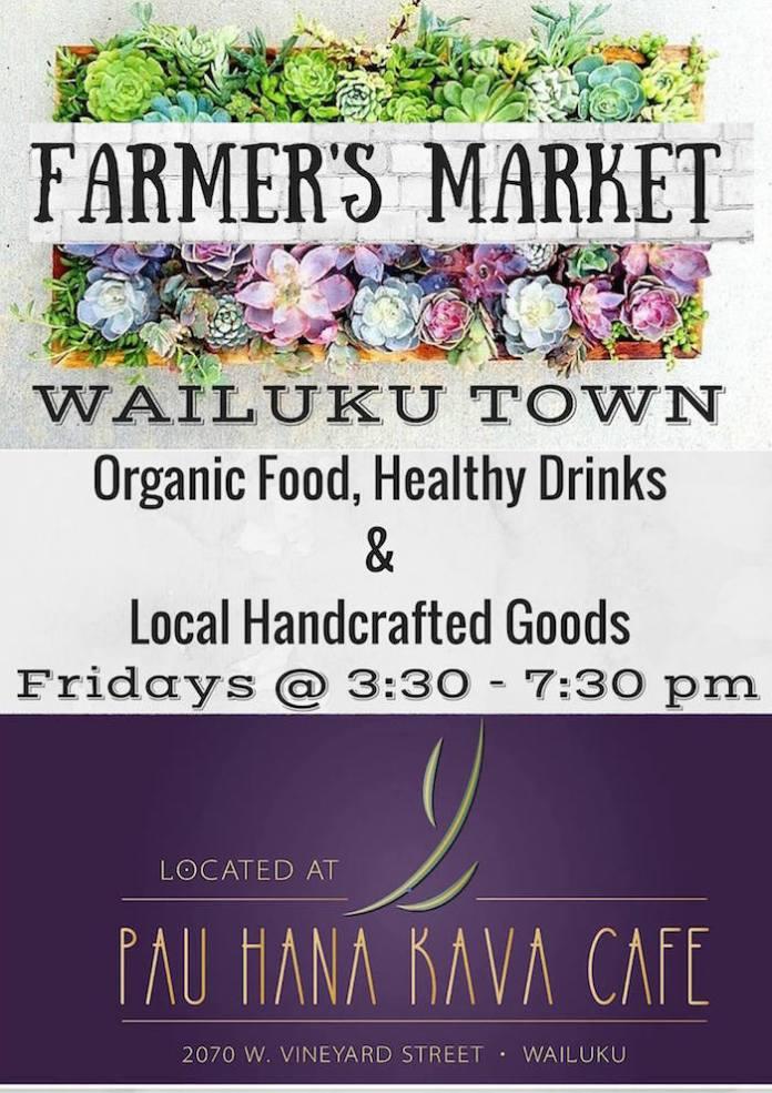 Wailuku Farmer's Market