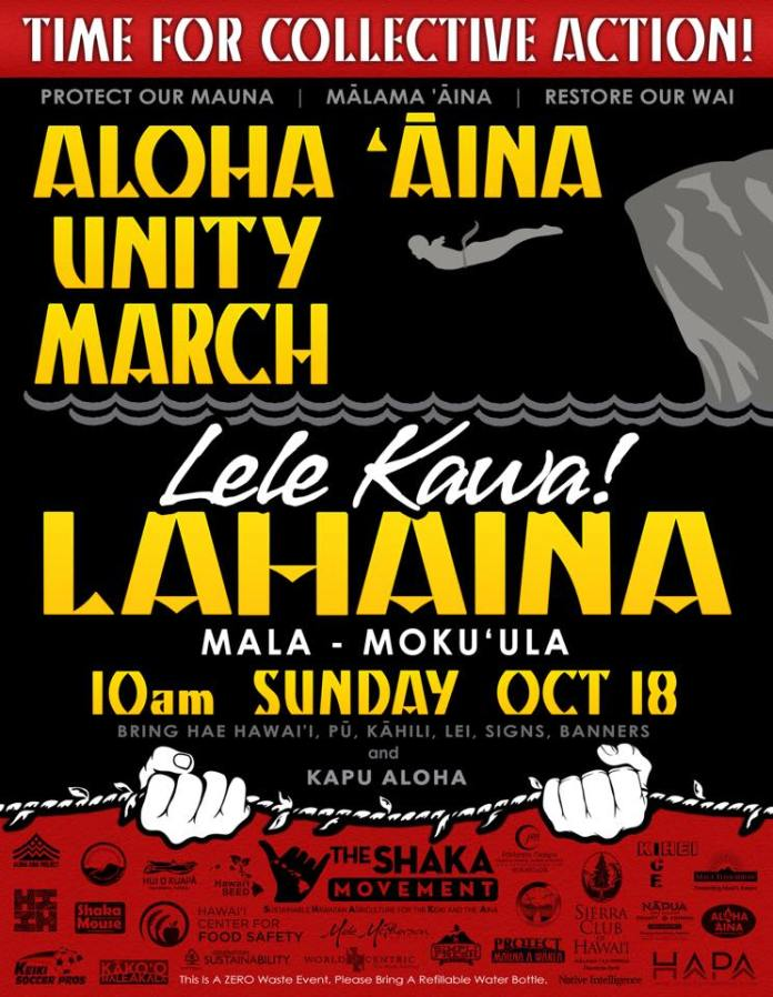 Aloha Aina unity March