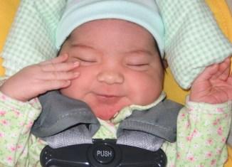 Bradley method birth story